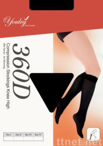Medical Compression Knee Stockings 3600D  30-40mmHg