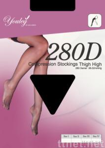 Medical Compression Thigh Stockings 280D  20-30mmHg