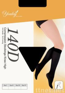 Medical Compression Knee Stockings 140D  8-15mmHg