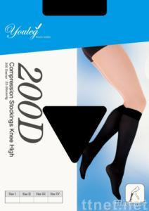 Medical Compression Knee Stockings 200D  15-20mmHg