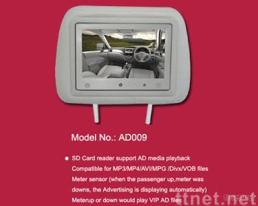 7 inch TFT SD Card Advertising Player w/Pillow
