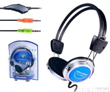 computer headset with microphone  OV-L908MV