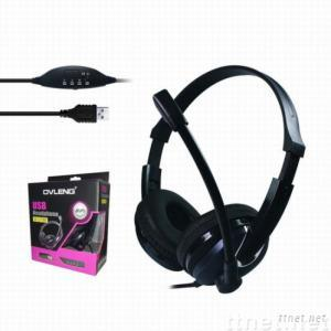 computer usb headphone with microphone OV-L771MV