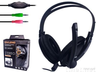 stereo headphone with microphone OV-L8001MV