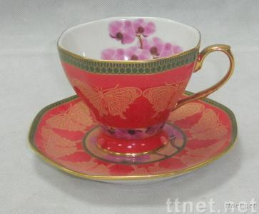 SUPPLY CUP & SAUCER  porcelain