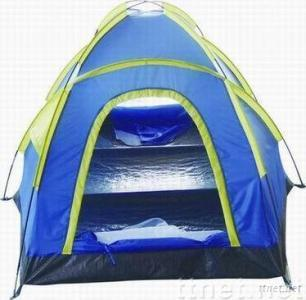three-person camping tent