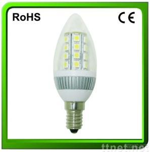 LED Bulb Candle Lamp G50A, C37A Light