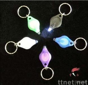 Keychain with LED lamps-finger