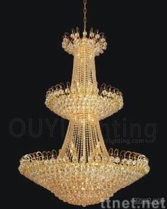 Crystal pendant lamps