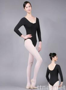 3/4 Sleeve Square Front Leotard 47X0045