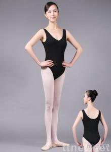 01X0033 Tank Leotard with Convertible Front Gather