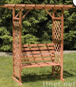 Arbor with bench