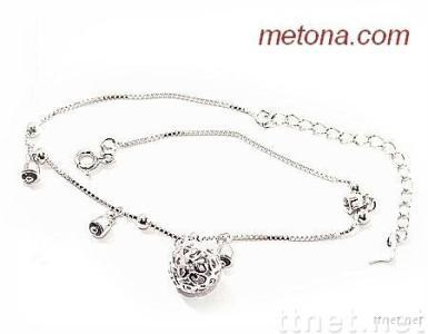 925 silver anklets