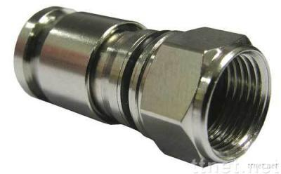 Coaxial Connectors F type for RG6/RG59/RG11