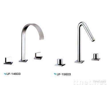 CP Doule Handle Basin Mixer
