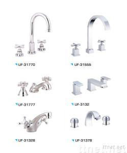 CP Double Handle Basin Mixer