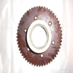 Gear of spinning machine