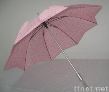Colorful Spot Printcloth Golf Umbrella
