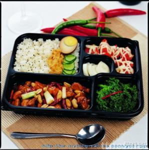 Invent patent meal box No.2 (Box : PP / Lid : OPS)