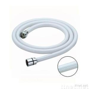 PVC white net shower pipe