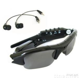 Functional 4GB Spy Sunglasses Camera DVR