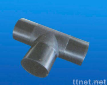 hdpe pipe fittings butt fusion equal tee