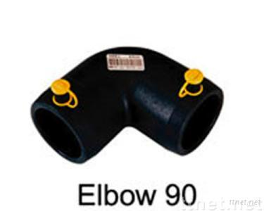 HDPE Pipe Fittings electro fusion elbow 90 degree