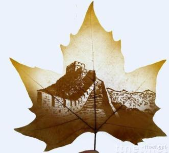 Leaf Carving-Great Wall