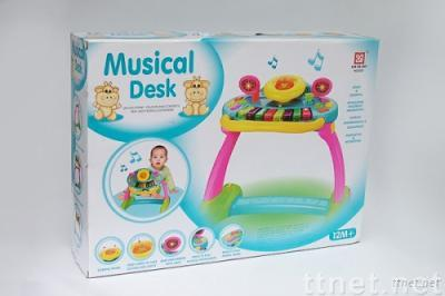 educational toy , baby toy , infant toy Multi-Function Musical Block Chair