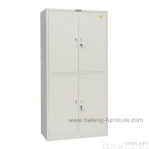 Double Section Filing Cabinet