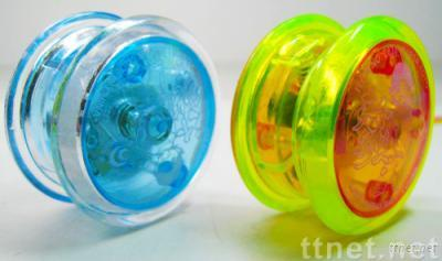 Plastic YOYO with light and music