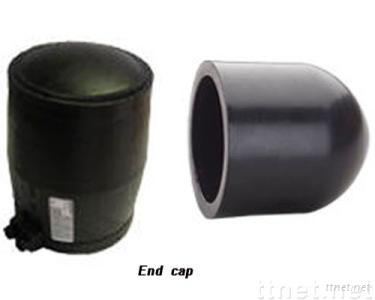 pe pipe fittings end cap