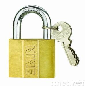 Dent Type Brass Padlock(sand polish)