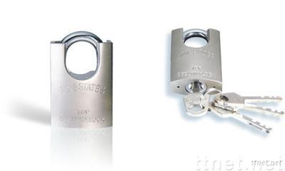 Electroplating Chrome Iron Padlock