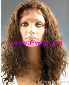 Remy/ Human Hair, Lace Front Wig