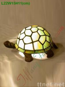 Tiffany Animal Table Lamp