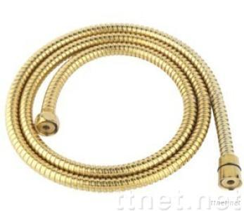 Double-lock Shower hoses*Gold-pated