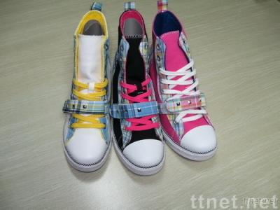 Lady Canvas Vulcanized Shoes