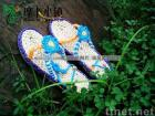 handmade straw sandals A-LH/straw slippers/leisure shoes/Plant Plaiting/original ecological