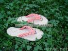 handmade straw sandals A-LJ-2/straw slippers/leisure shoes/Plant Plaiting/original ecological