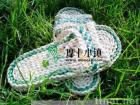 man-made fashionable  plants' fiber straw sandals B-cx01b/original ecological/lady shoes/elegant shoes