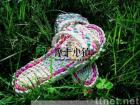 man-made fashionable  plants' fiber straw sandals B-cx01g/original ecological/lady shoes/elegant shoes