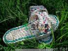 man-made fashionable  plants' fiber straw sandals B-cx01h/original ecological/lady shoes/elegant shoes