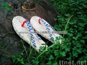 handmade straw sandals A-LP/straw slippers/leisure shoes/Plant Plaiting/original ecological