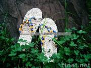 handmade straw sandals A-LJ-1/straw slippers/leisure shoes/Plant Plaiting/original ecological