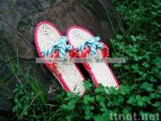 handmade straw sandals A-LK/straw slippers/leisure shoes/Plant Plaiting/original ecological