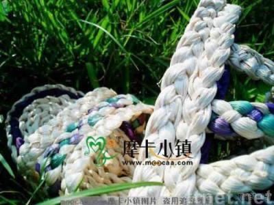 man-made fashionable  plants' fiber straw sandals B-cx01k/original ecological/lady shoes/straw shoes