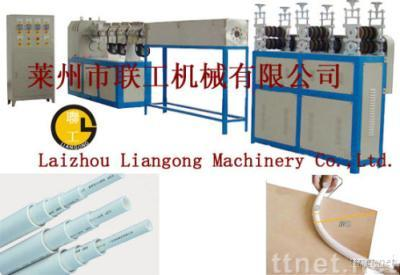 PVC cold bending pipe (threading pipe) production line