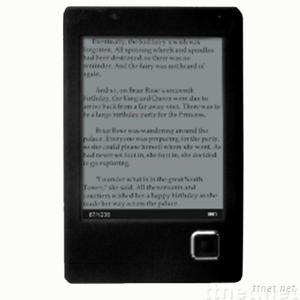6 inch size Ebook+mp3 with ARM9 Samsung2440 of CPU ,800*600 resolution,support wifi