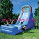 Inflatable Swimming Slide